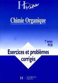 Chimie organique, 1re année, PCSI