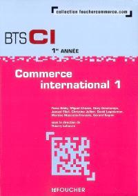 Commerce international 1, BTS CI 1re année