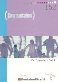 Communication BTS 1re année MUC