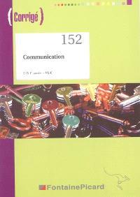 Communication BTS 1re année MUC : corrigé
