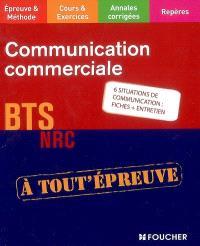 Communication commerciale : BTS NRC