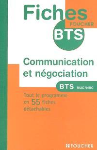 Communication et négociation : BTS MUC-NRC