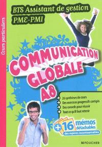 Communication globale A8, BTS assistant de gestion PME-PMI