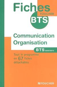 Communication organisation : BTS assistants