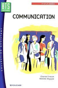 Communication, BTS 1e et 2e année : manuel