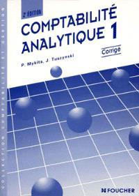 Comptabilité analytique. Volume 1, corrigés