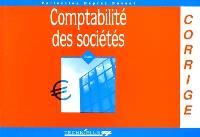 Comptabilité des sociétés : corrigé