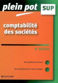 Comptabilité des sociétés : enseignement supérieur, BTS, DUT tertiaires