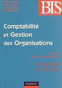 Comptabilité et gestion des organisations : l'essentiel en 109 fiches