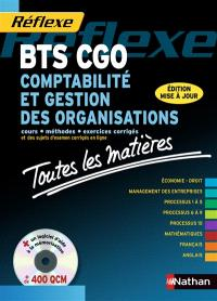 Comptabilité et gestion des organisations BTS CGO : cours, méthodes, exercices corrigés