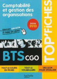 Comptabilité et gestion des organisations, BTS CGO