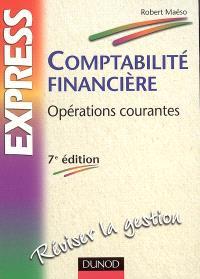 Comptabilité financière : opérations courantes