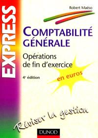 Comptabilité générale : opérations de fin d'exercice