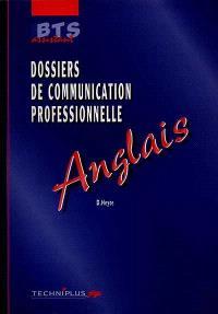 Dossiers de communication professionnelle : anglais