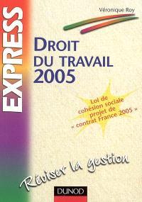 Droit du travail 2005