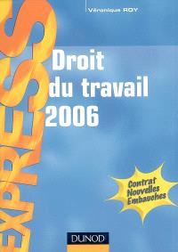 Droit du travail 2006