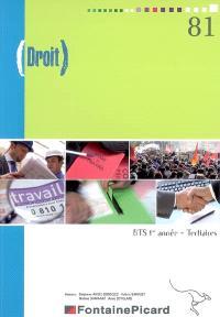 Droit, BTS 1re année, tertiaires