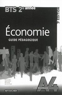 Economie BTS tertiaires 2e année : guide pédagogique