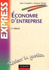 Economie d'entreprise