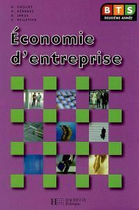 Economie d'entreprise BTS 2e année