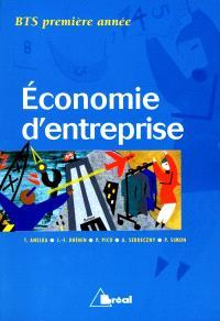 Economie d'entreprise, BTS 1re année
