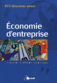 Economie d'entreprise, BTS 2e année