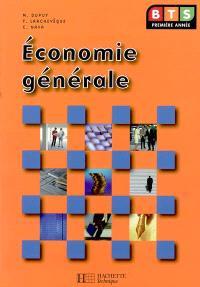 Economie générale BTS 1re année
