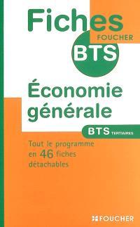Economie générale BTS tertiaires