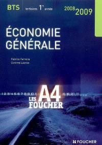 Economie générale BTS tertiaires 1re année