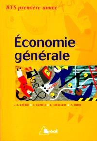 Economie générale, BTS 1re année