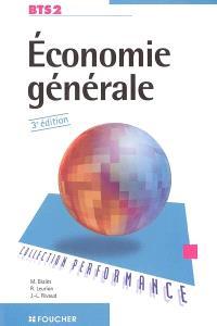 Economie générale, BTS 2