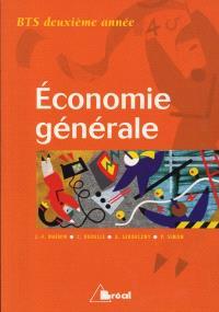 Economie générale, BTS 2e année