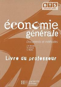 Economie générale, BTS 2e année : livre du professeur