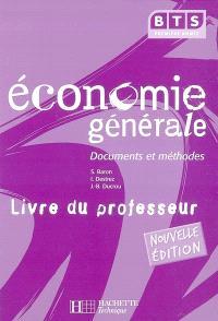 Economie générale, BTS première année : livre du professeur