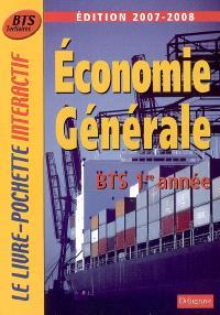 Economie générale, BTS tertiaires 1re année