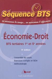 Economie-droit : BTS tertiaires 1re et 2e années