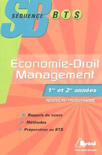 Economie-droit et management : BTS tertiaires 1re et 2e années