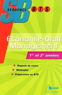 Economie-droit-management : BTS tertiaires 1re et 2e années
