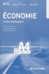 Economie, BTS 1re année : guide pédagogique