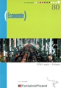 Economie, BTS 1re année, tertiaires