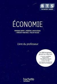 Economie, BTS première année : livre du professeur