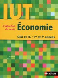 Economie, GEA et TC, 1re et 2e années