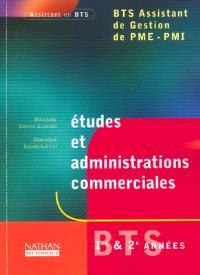Etudes et administrations commerciales, BTS assistant de gestion PME-PMI
