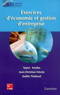 Exercices d'économie et gestion d'entreprise