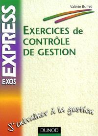 Exercices de contrôle de gestion