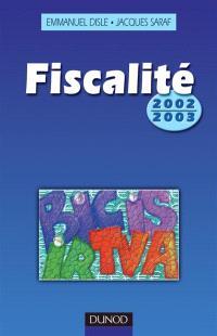 Fiscalité 2002-2003