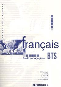 Français BTS : guide pédagogique