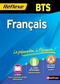 Français BTS : nouveau programme