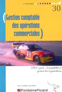Gestion comptable des opérations commerciales, BTS 1re année, comptabilité et gestion des organisations