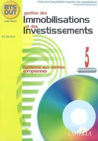 Gestion des immobilisations et des investissements : processus 5, BTS DUT comptables : feuillets détachables